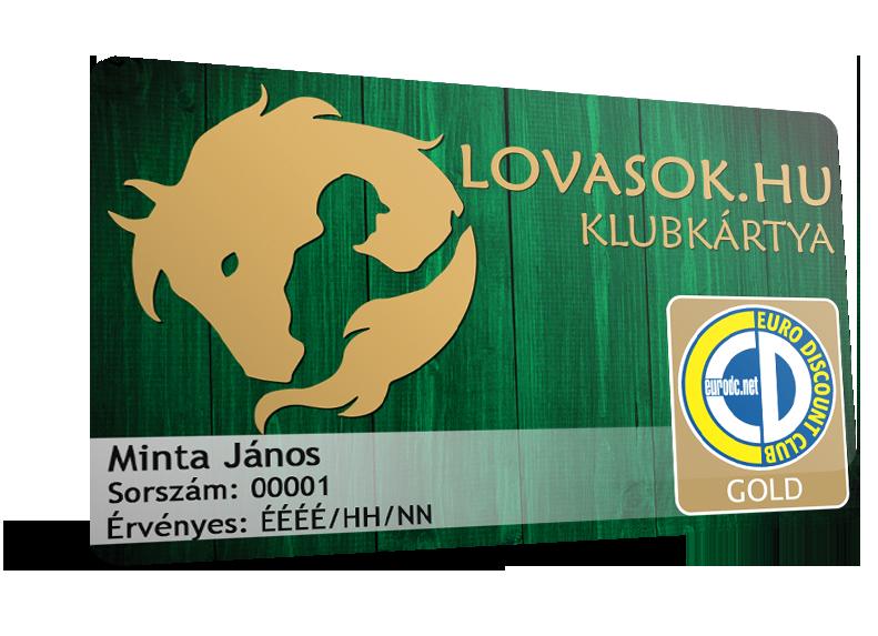 Lovasok.hu klubkártya